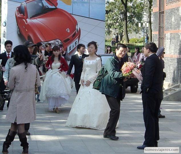 novias chinas en shanghai