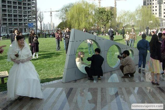posados de novias en shanghai