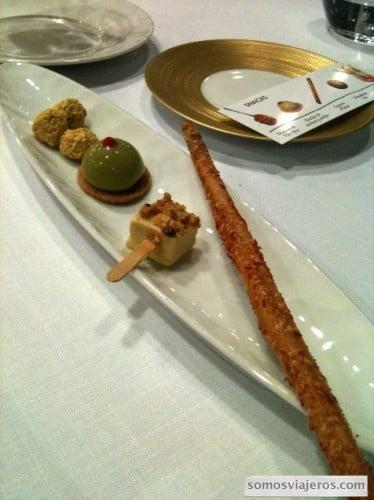 snacks restaurante Caelis Barcelona