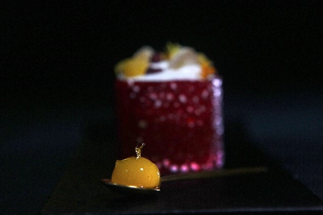 plata mevba restaurante caelis barcelona
