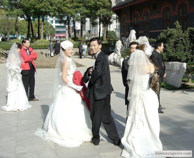 novios chinos