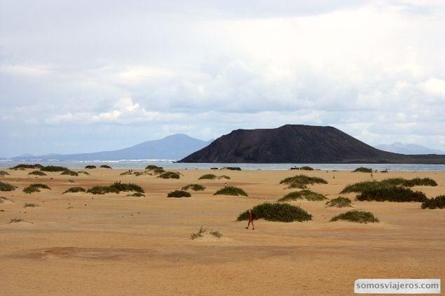 Viaje y recorrido en familia por el norte de Fuerteventura