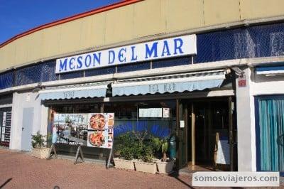 foto entrada restaurante Mesón del Mar en Tarragona