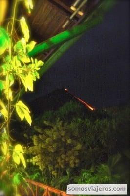 lava en costa rica volcan arenal