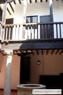patio interior tembleque ruta El Quijote