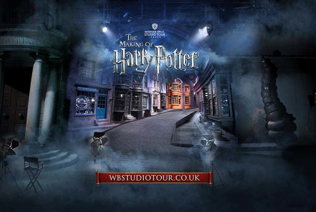Imagen de la web de Harry Potter en Londres warner Bros Studios