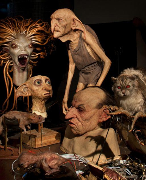 Figuras y animatronics de warner bros studio Harry Potter en Londres