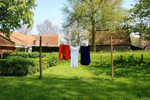 bandera-de-holanda-con-la-ropa