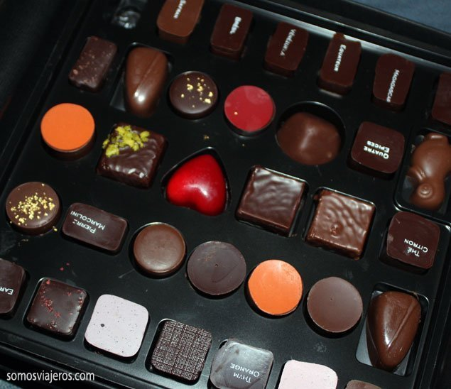 Viaje al glamour en el mundo del chocolate. Bruselas