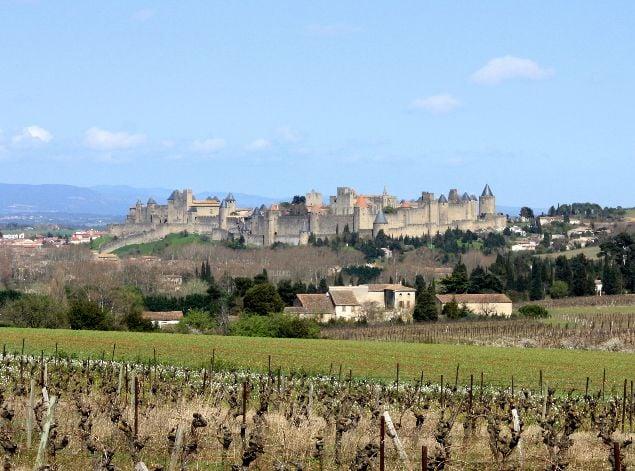 Vista panorámica de Carcassonne