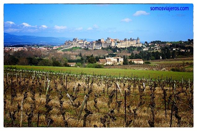 Carcassonne desde la carretera