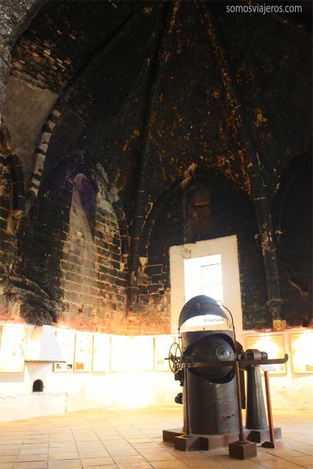 cocina monasterio de piedra