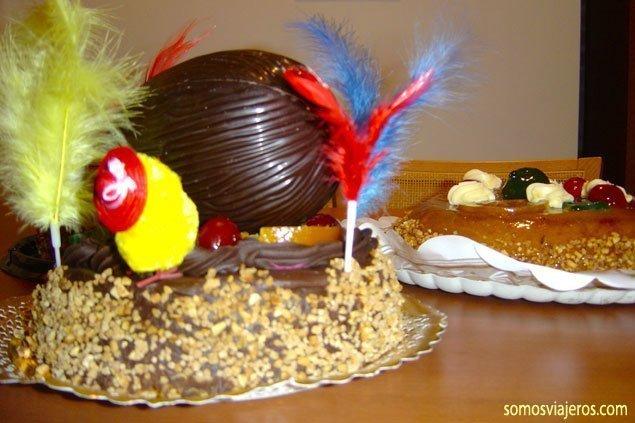 Tradiciones populares basadas en el chocolate. El día de la mona en Cataluña