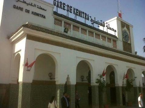 estacion de tren de kenitra en marruecos