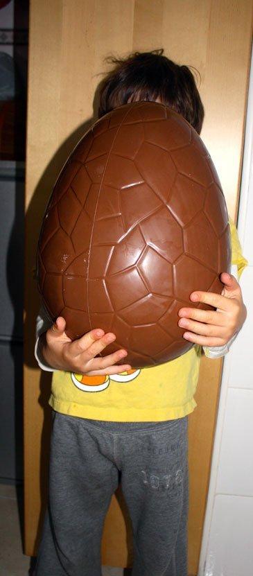 huevo gigante