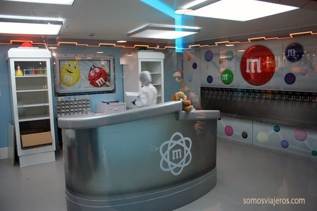 laboratorio chocolate MMs en Londres