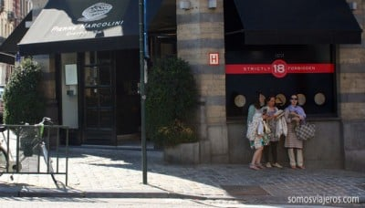 tienda marcolini en Bruselas
