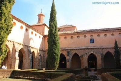 Foto claustro Monasterio de Piedra