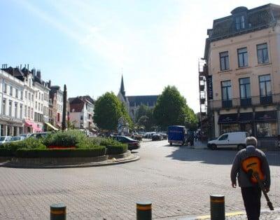 foto Plaza du grand Sablon Bruselas