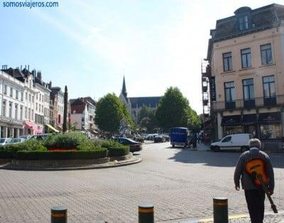 Place du Grand Sablon en Bruselas