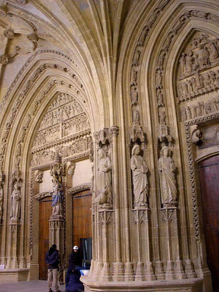 portico catedral vitoria