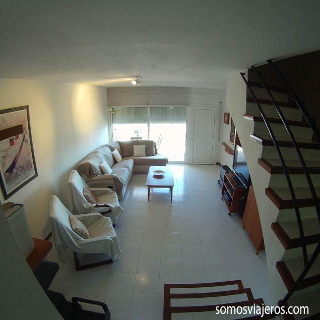 apartamento en Roses. salón principal