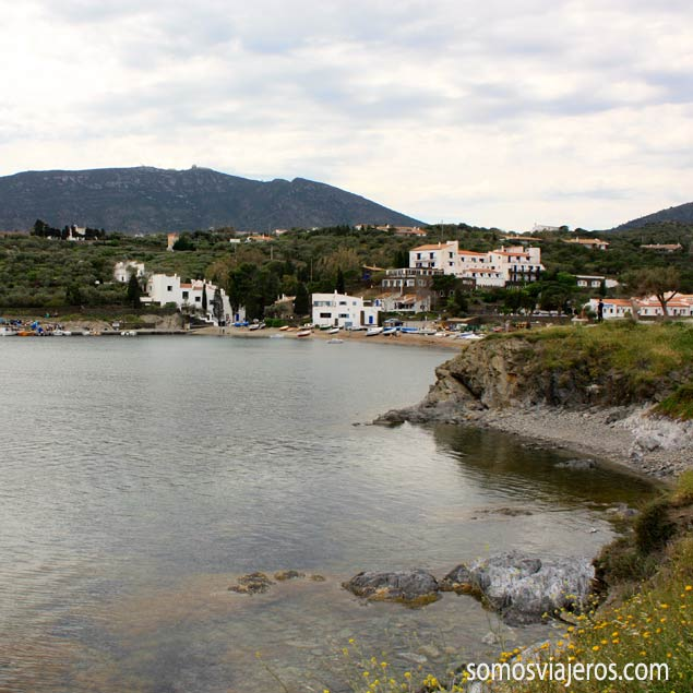 port lligat en costa Brava