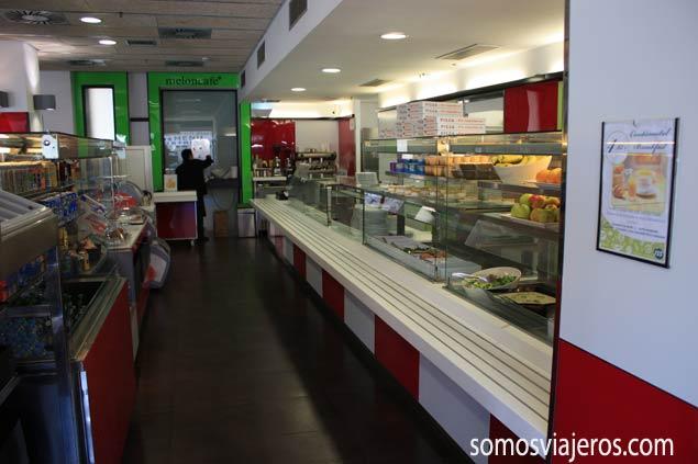 Vista restaurante Melon District Barcelona