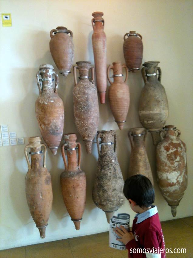 Ánforas del museo arqueológico de Tarragona