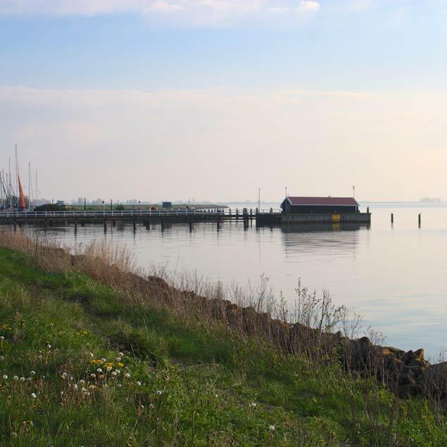embarcadero en Marken, holanda