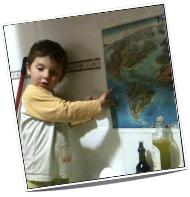 david y el mapa del mundo
