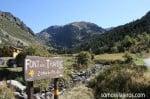Inicio ruta a font del Travenc en Andorra