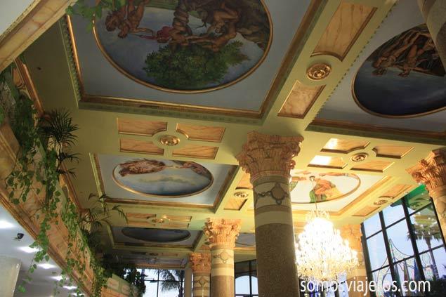 techo vestívulo hotel marina d'or