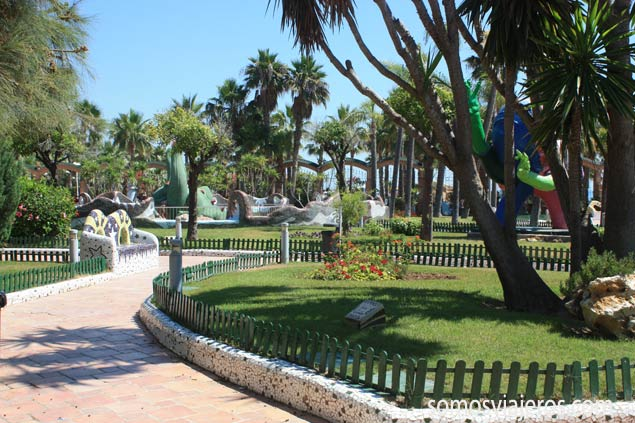 jardines en Marina d'Or