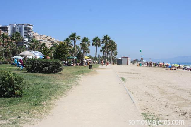 zona playa en Marina d'Or