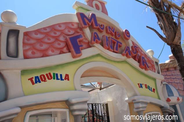 Mundo fantasía en Marina d'Or. Parque de atracciones