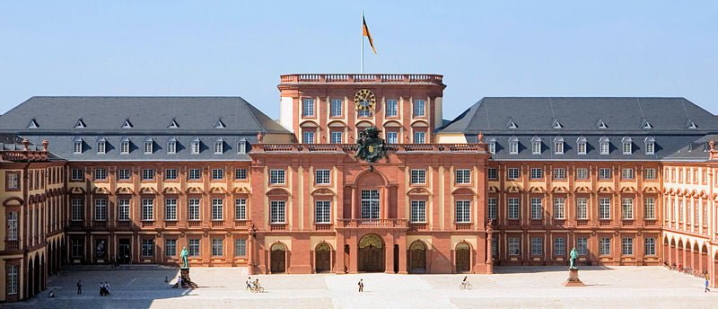 Castillo Universidad de Mannheim