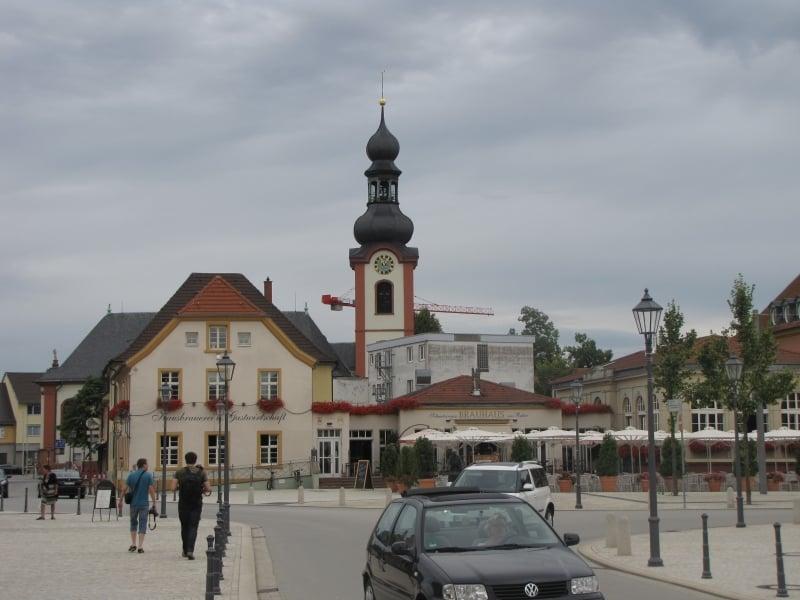 Alrededores Palacio Schwetzingen