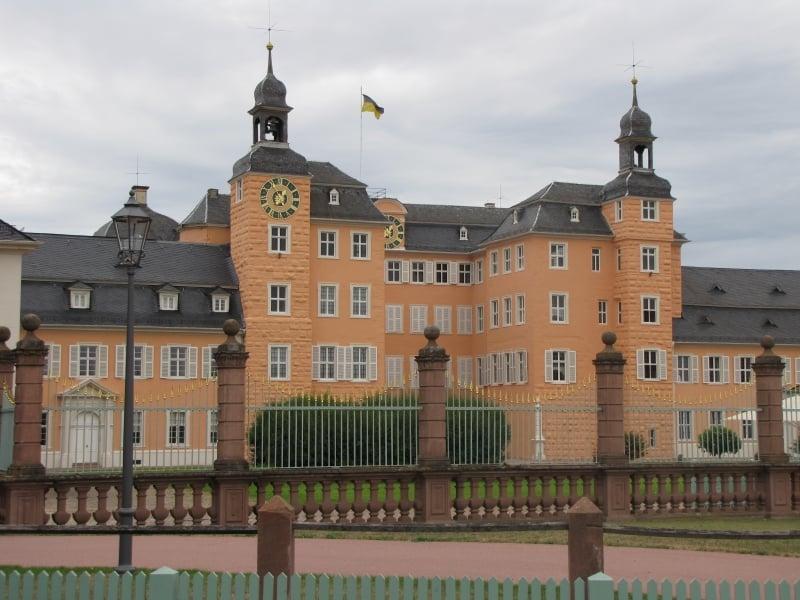 Fachada Palacio Schwetzingen