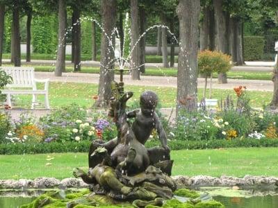 Fuente ornamental