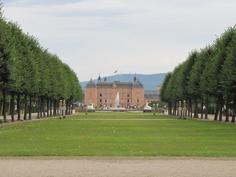 Vista fachada interior Palacio