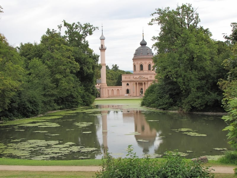 Mezquita en el Jardin Turco