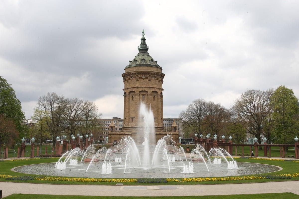 Torre del agua Mannheim