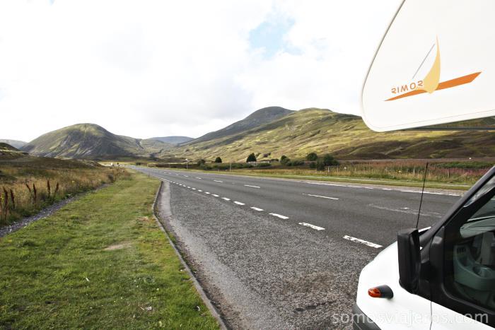 La autocaravana como forma ideal de recorrer Escocia en familia con niños