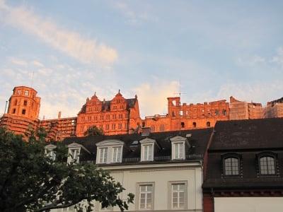 Vista castillo Heidelberg