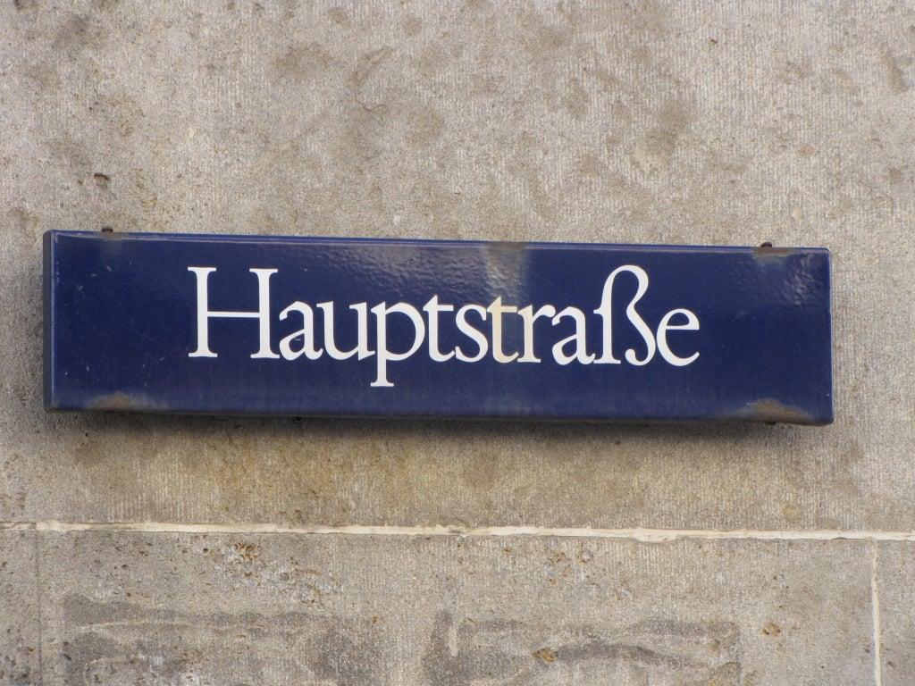 Hauptstrasse Heidelberg