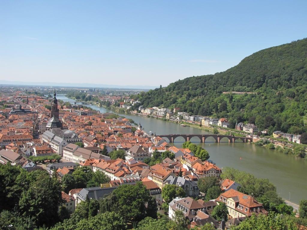 Vista Heidelberg desde el Castillo