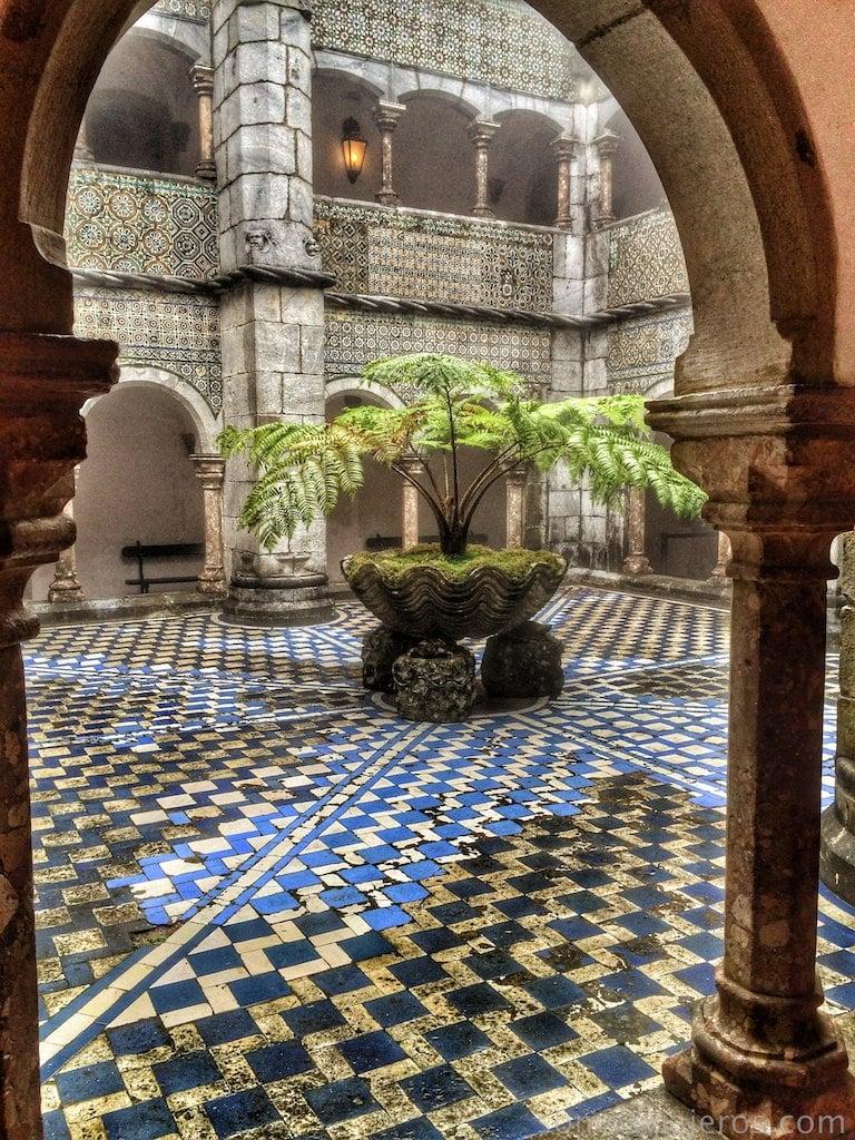 Palacio da Pena en Sintra. Click para ampliar