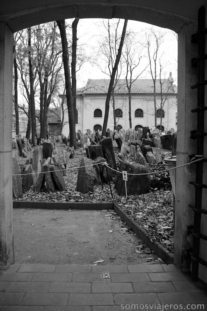 entrada cementerio judio de praga