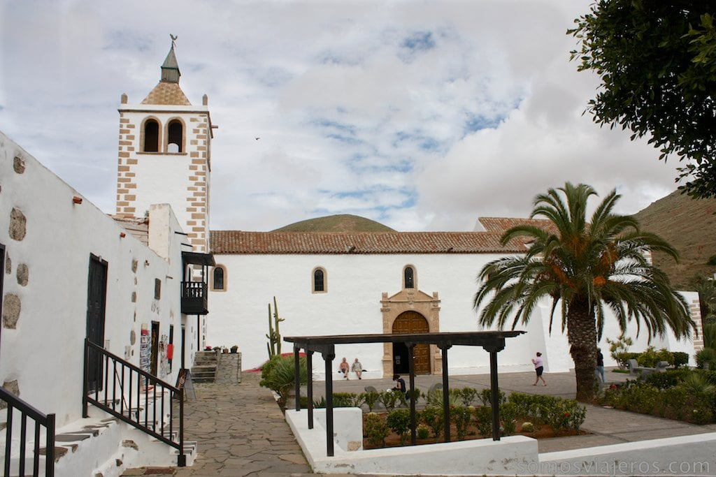 plaza mayor de Betancuria